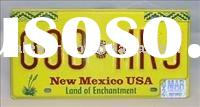 vehicle license plate