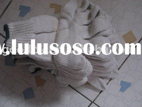 white wholesale industrial cotton gloves