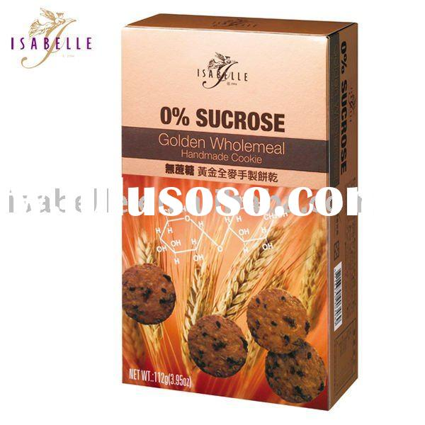 0% Sucrose Golden Wholemeal Gourmet Cookies