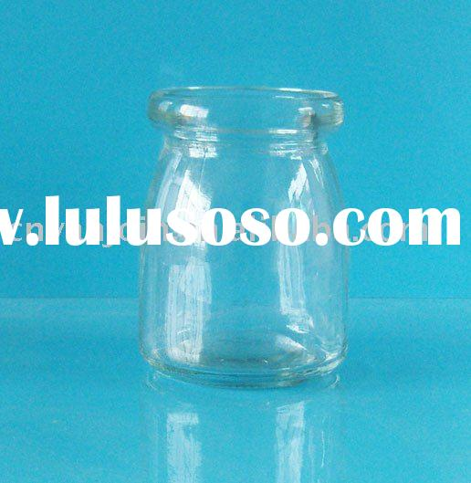 100ML Wide Mouth Glass Milk Bottle