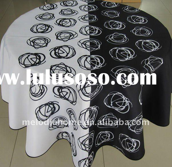 100% Polyester Printed TableCloth (home textile)