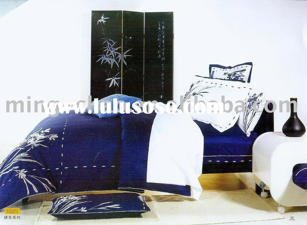 100% cotton Embroidery Bedding sets
