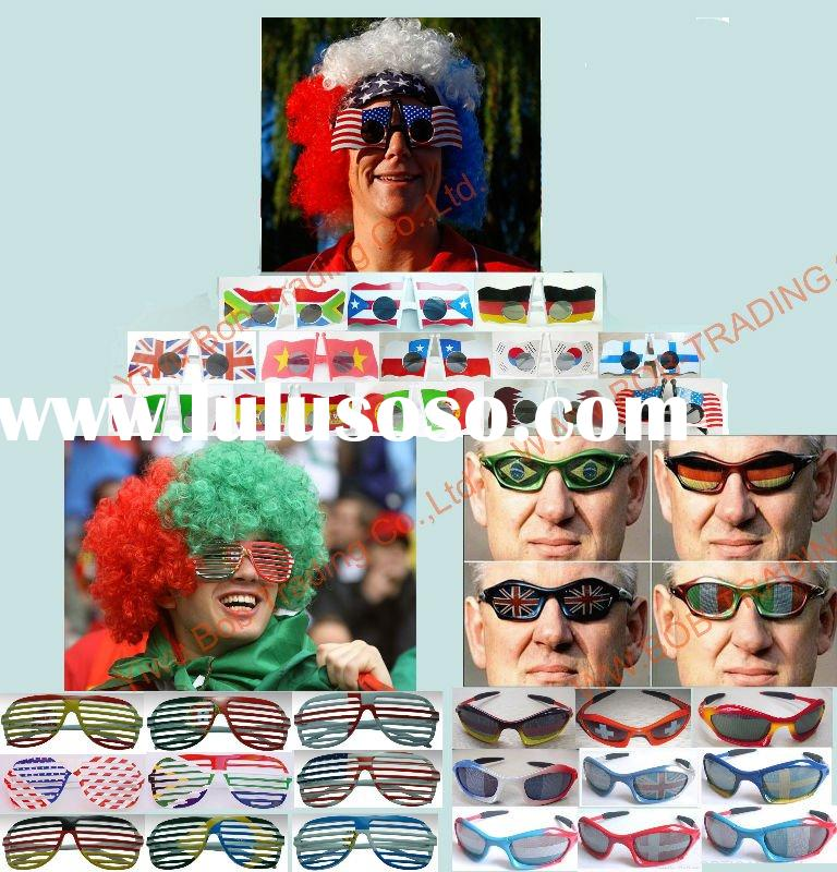 109th China Import and Export Fair Showed Products national flag sunglasses