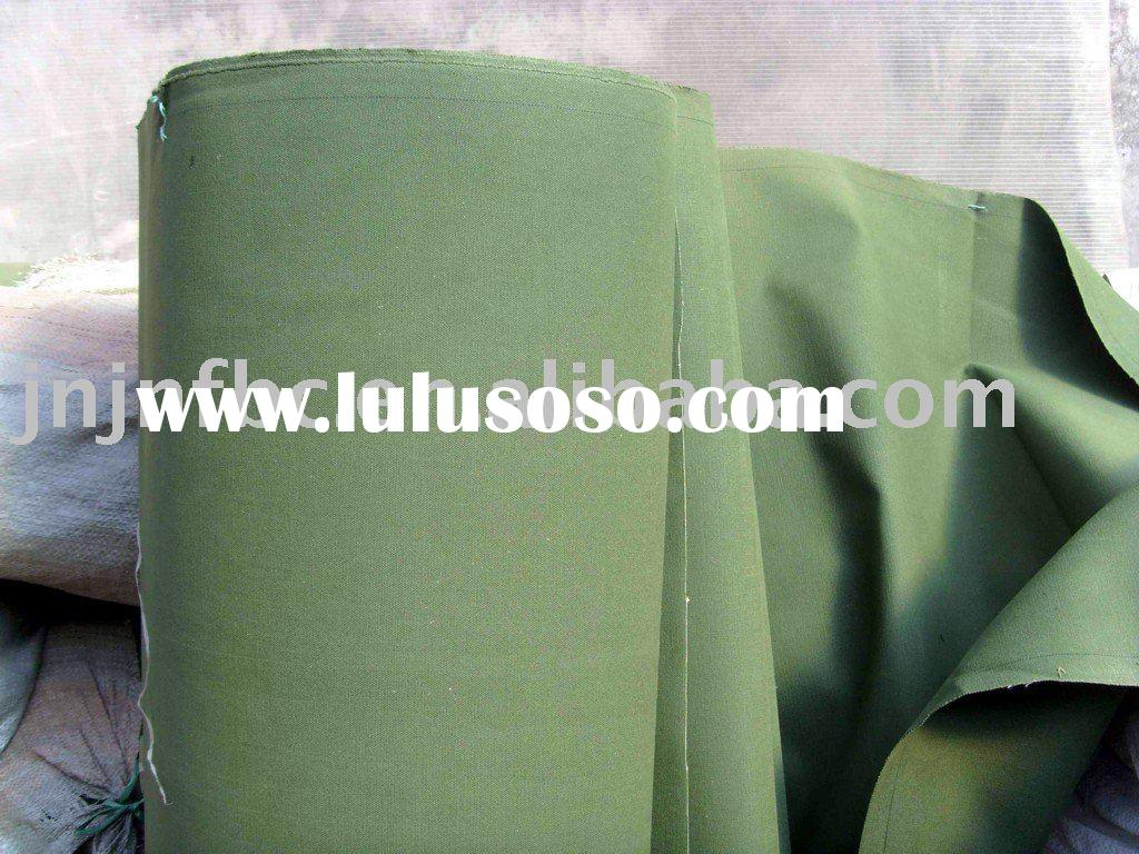 10/3*10/3 550gsm military green 100% cotton canvas