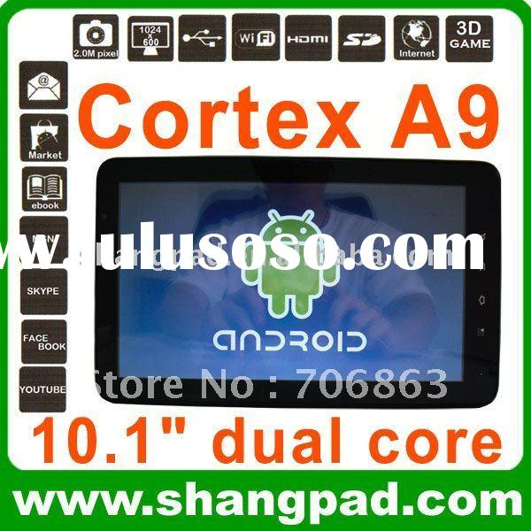 10 inch latest Amlogic dual core cortex A9 mid tablet pc manual