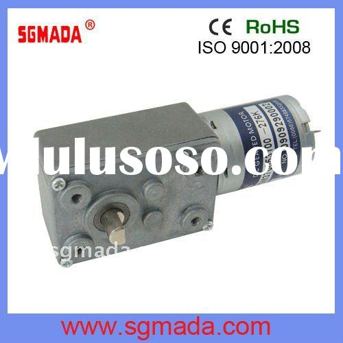 12V HIGH TORQUE LOW RPM DC WORM GEAR MOTOR