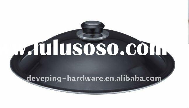 "12"" Black Universal Pot Pan Lid"