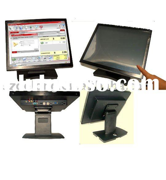 17'' lcd all-in-one desktop pc with touchscreen