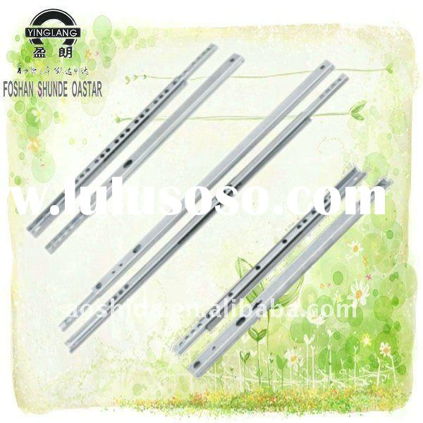 17mm Mini ball bearing drawer Slides with optional size