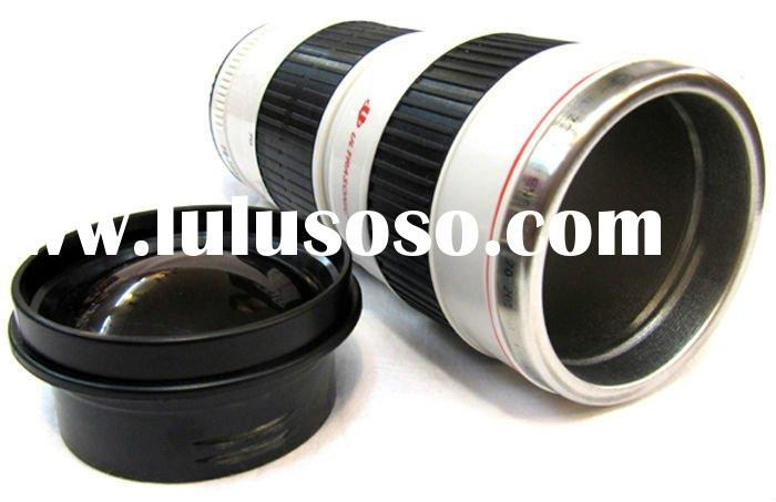 1:1 Lens cup of EF 70-200 mm ,camera lens cup with glass cover , Mugs for coffee