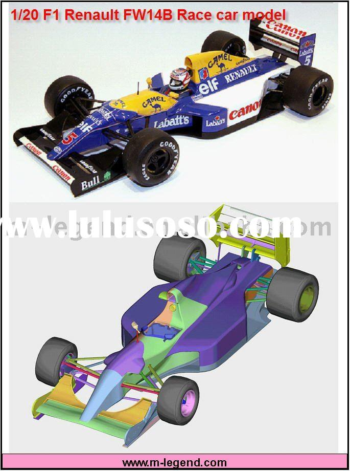 1/20 resin model kit FW14b