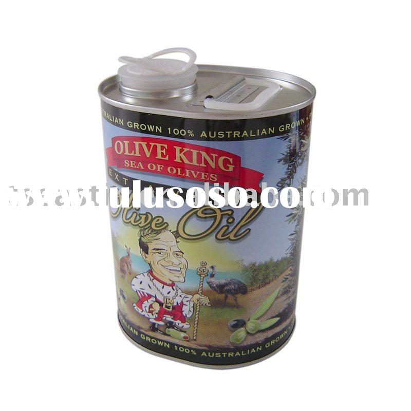 1.25L olive oil tin can