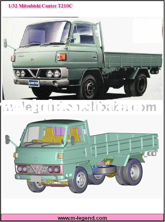1/32 Scale model car kits Canter T210C