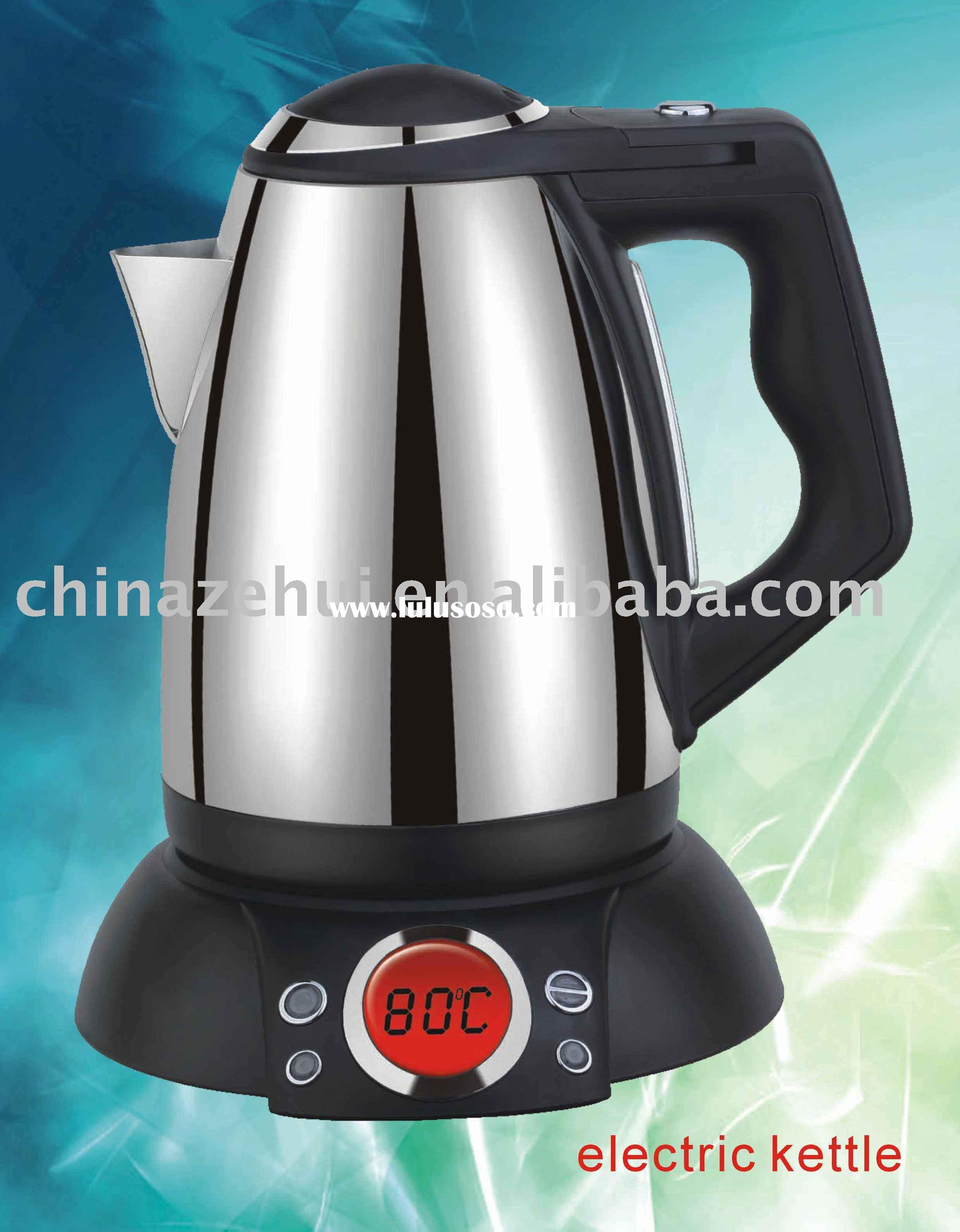1.5L cordless electric kettle or stainless steel kettle
