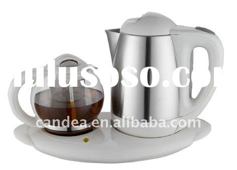 1.8L Stainless Steel Electric Kettle with Tea tray