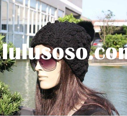 2011 Fashion Trendy Knitted Hats for Winter NUS02817