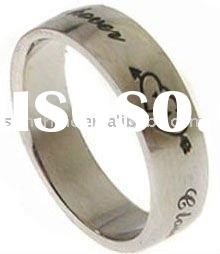2011 Friendship 100% stainless steel Classic ring