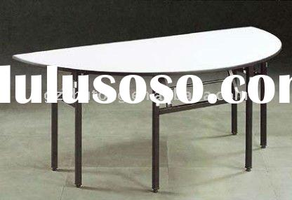 2011 Hot Sale Used Folding Semi-circle Table