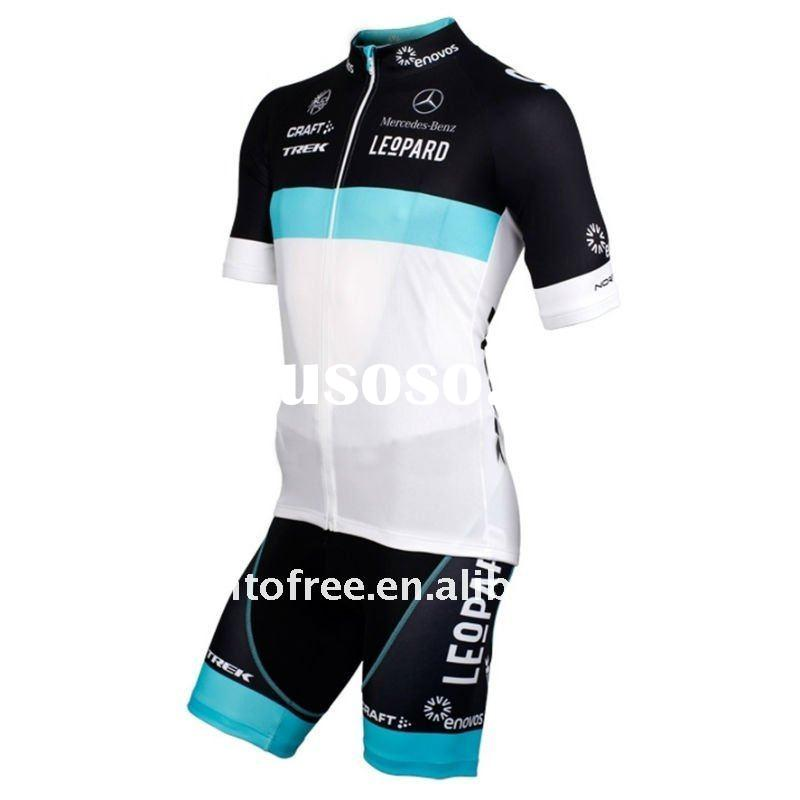 2011 Leopard-Trek Racing Team cycling clothing,new bicycle wear bib shorts