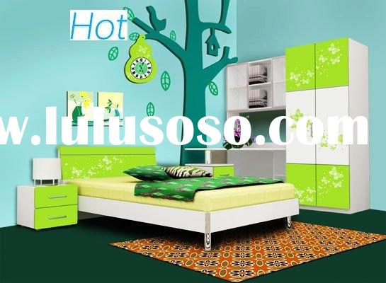 2011 New Design-children bedroom furniture-E1 MDF+UV finish