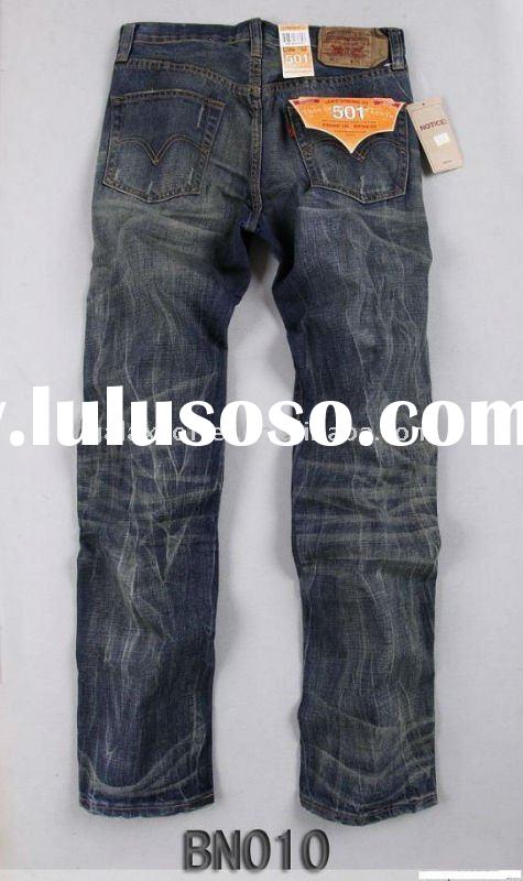 2011 New Hot Men jeans boy Men's denim 501 jeans pants trousers lady jeans Paypal