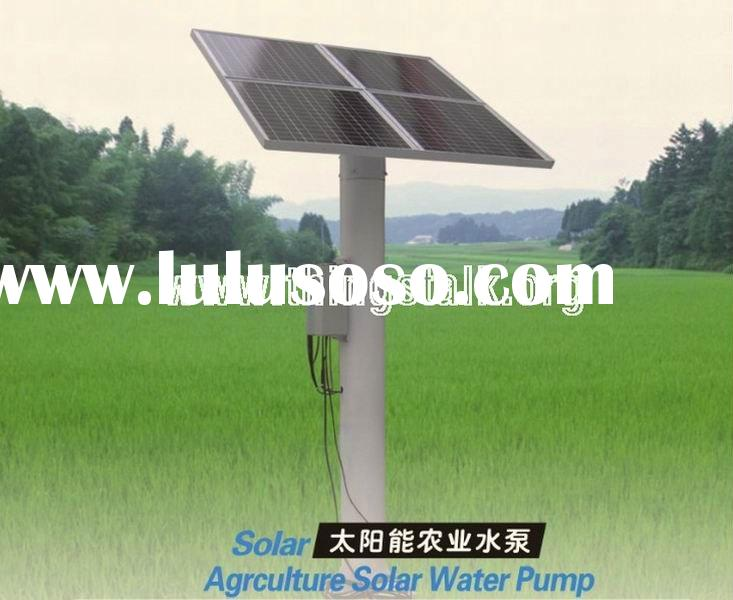 2011 Solar Water Pump for irrigation