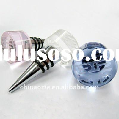 2011 Top Sales crystal wine bottle stopper