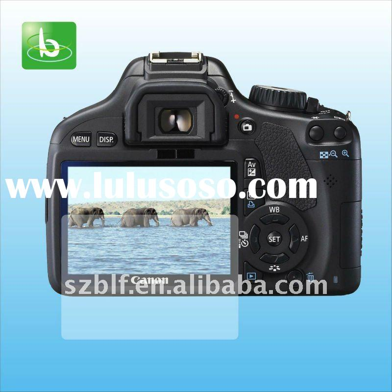 2011 Topselling camera clear screen protector for Canon 550D paypal accepted