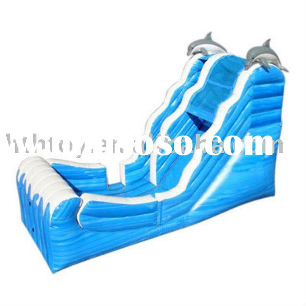 2011 commercial inflatable water slide with pool