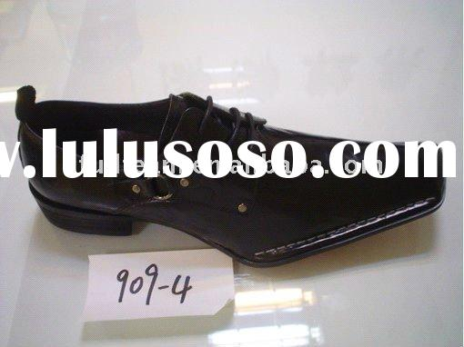 2011 italian design genuine leather men shoes