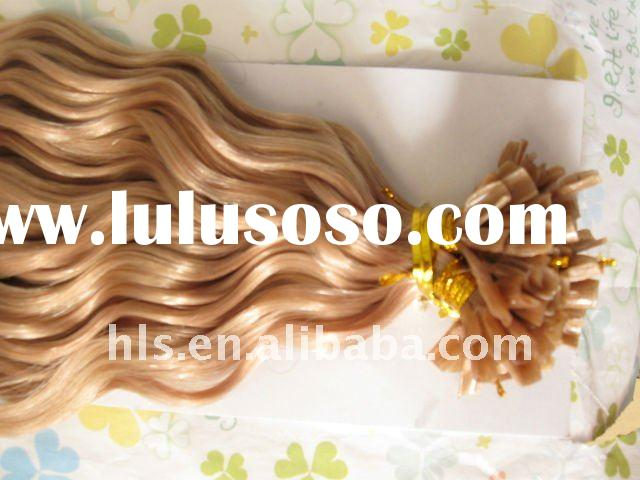 2011 most fashion U-tip keratin/ prebonded hair extensions with a big discount,free shipping!