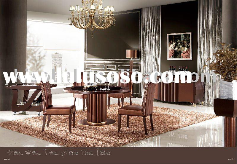 2011 new Italy design modern round dining table YS002