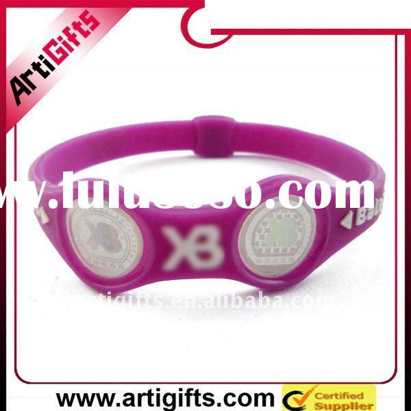 2011 new colorful power balance silicone bracelet