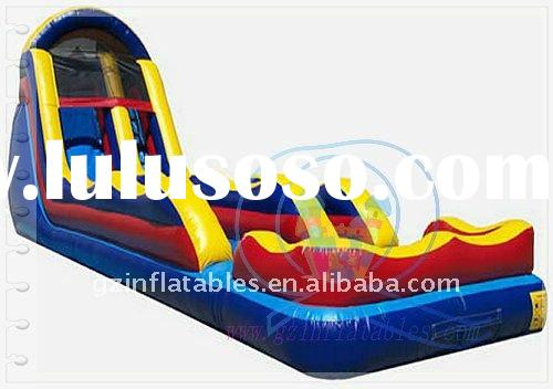2011 new design giant inflatable water slide for adult