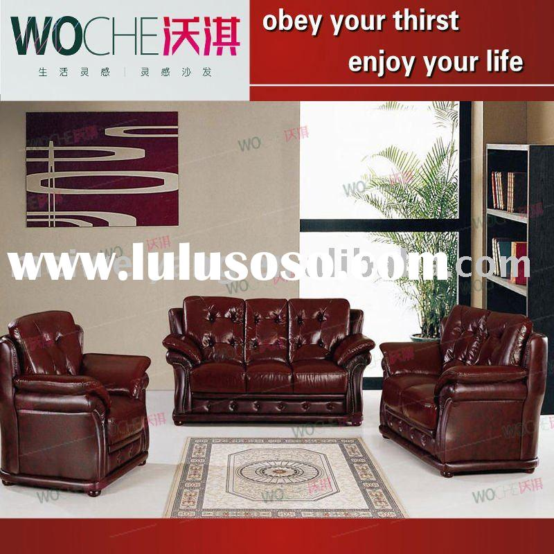 Ab 103 office furniture leather sofa sale for sale price for Quality modern furniture