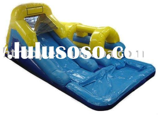 2011 well sale in Mexico inflatable water slide with pool