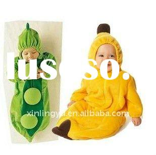 2011 wholesale hot sale animal shape baby sleeping bag ,discount warm baby clothes ,accept PAYPAL