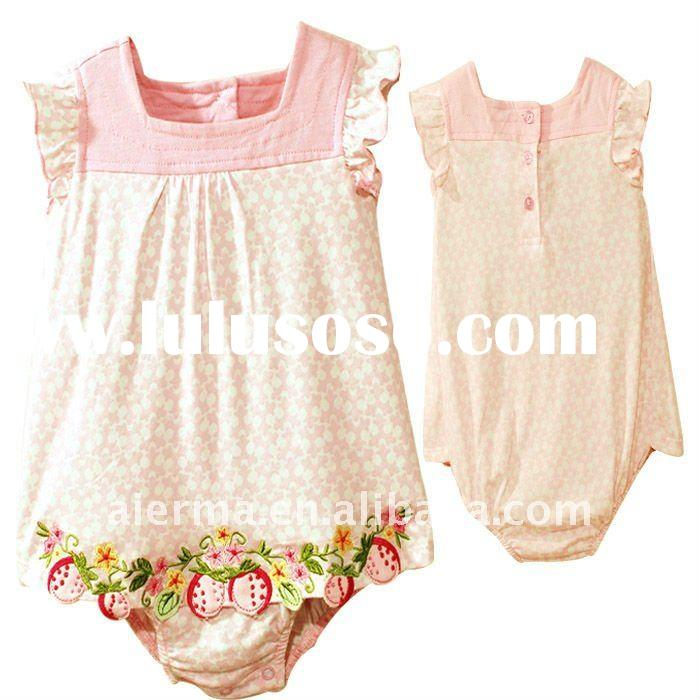 2012 Baby girls baby clothing