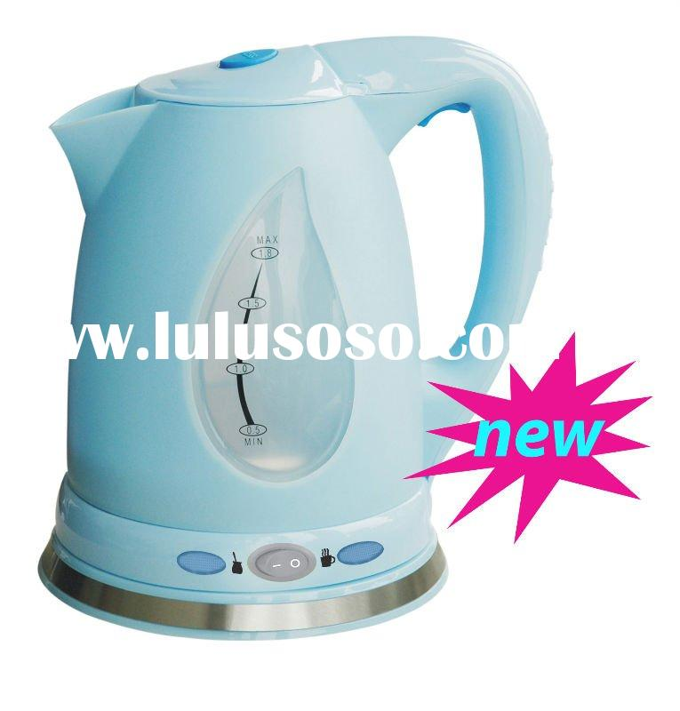 2012 NEW colorful keeping warm plastic electric kettle