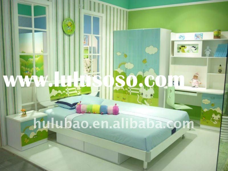2012 New Design MDF High Gloss UV boys furniture