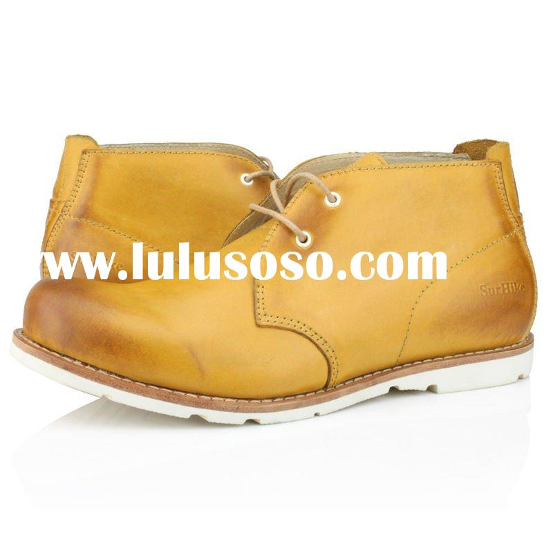 2012 most popular handmade men leather boots