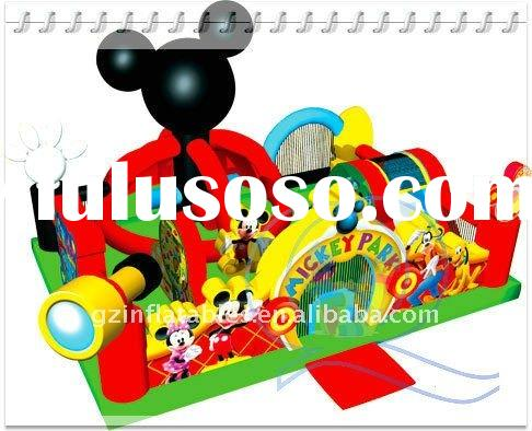 2012 new design mickey mouse inflatable bouncer