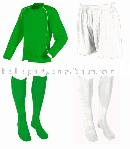 2012 new soccer jerseys uniforms green soccer uniform with green/white socks,athletic customized jer