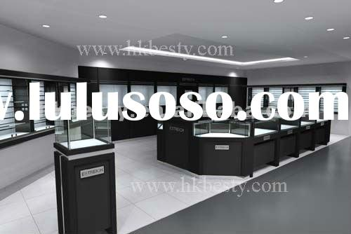 2012 new style high-end quality jewellery showroom designs