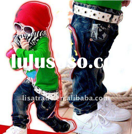 2012 newest kids jeans, fashion & cool baby jeans, u are deserved it!!!