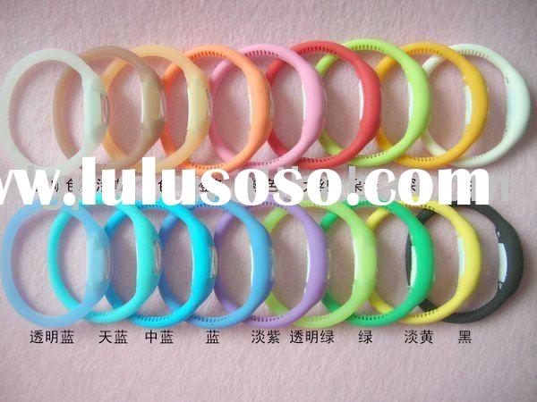 2012 wholasale power(energy) balance silicone watch wristband