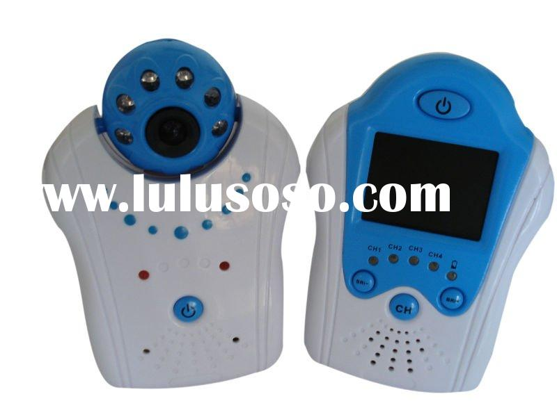 2.4GHz 1.5inch TFT LCD wireless baby monitor