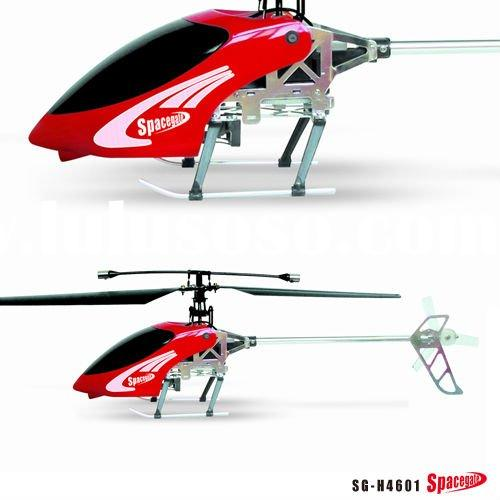 2.4G 4CH outdoor metal structure RC helicopter with gyro