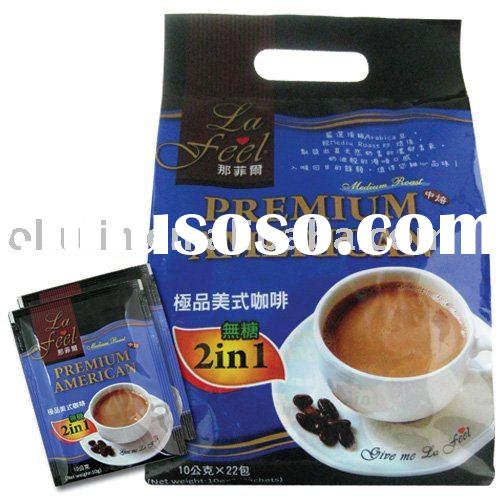 2 in 1 Instant Coffee - no sugar added