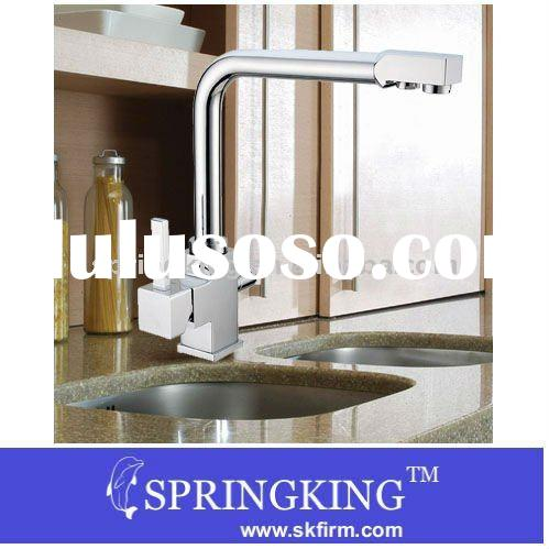 3 way Tap Kitchen Sink Faucet water Filter